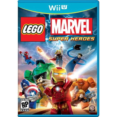 LEGO Marvel Super Heroes for Nintendo Wii U Warner Bros. ()