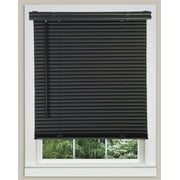 tailored kp mainstays valance c mini blinds black macrame
