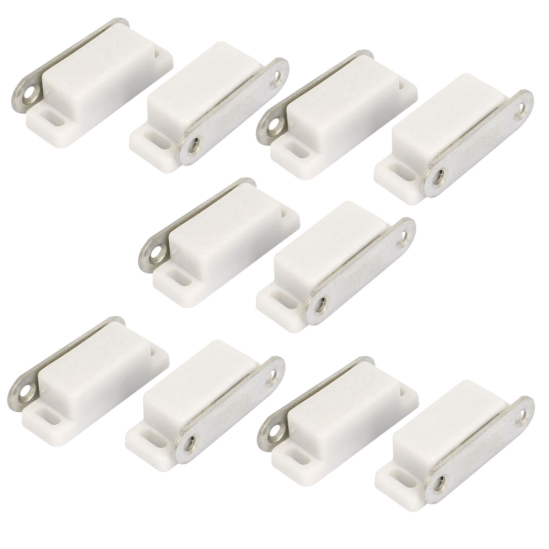 10pcs Cabinet Hardware Cupboard Door Stopper Magnetic Catch Latch Stop