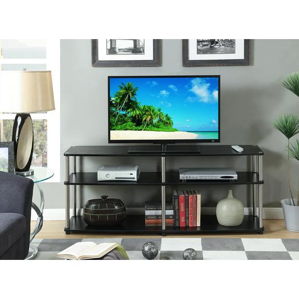 "Convenience Concepts Designs2Go 3 Tier 60"" TV Stand, Black"