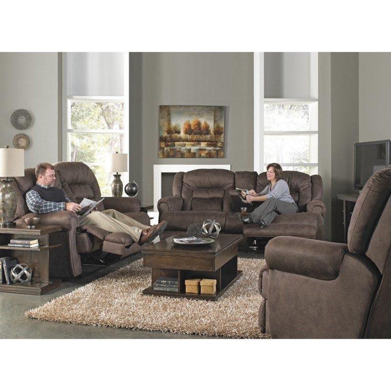 catnapper atlas extra tall 3 piece power reclining sofa set in sable rh walmart com