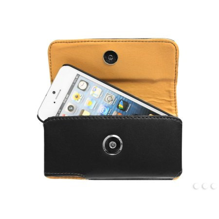 Cellet Noble Case For iPhone 5, 5s, SE + Proguard Case & Cellet Removable Spring Belt Clip
