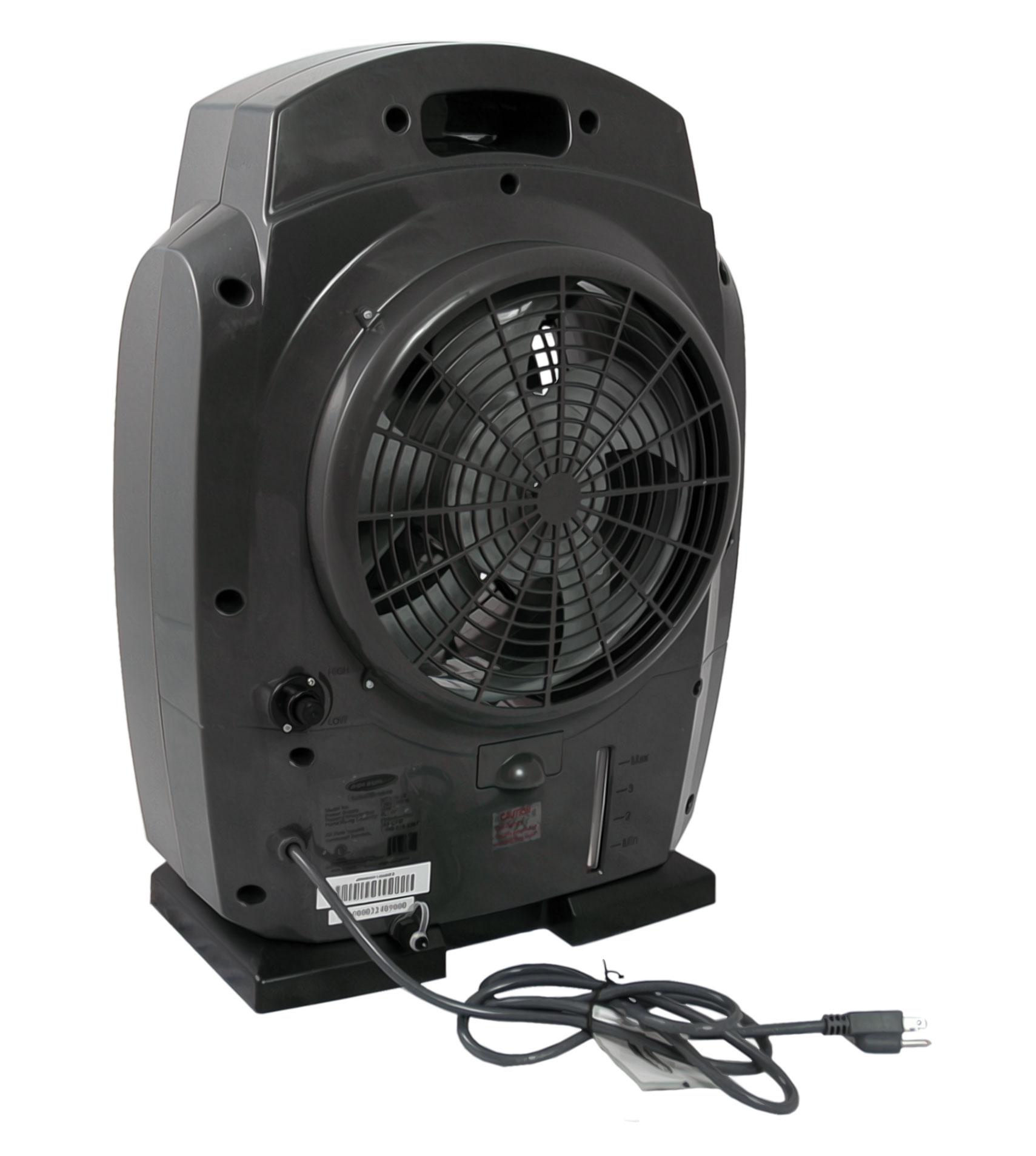 Soleus MT1-19-32 HumidiBreeze Portable Misting Fan - Walmart.com