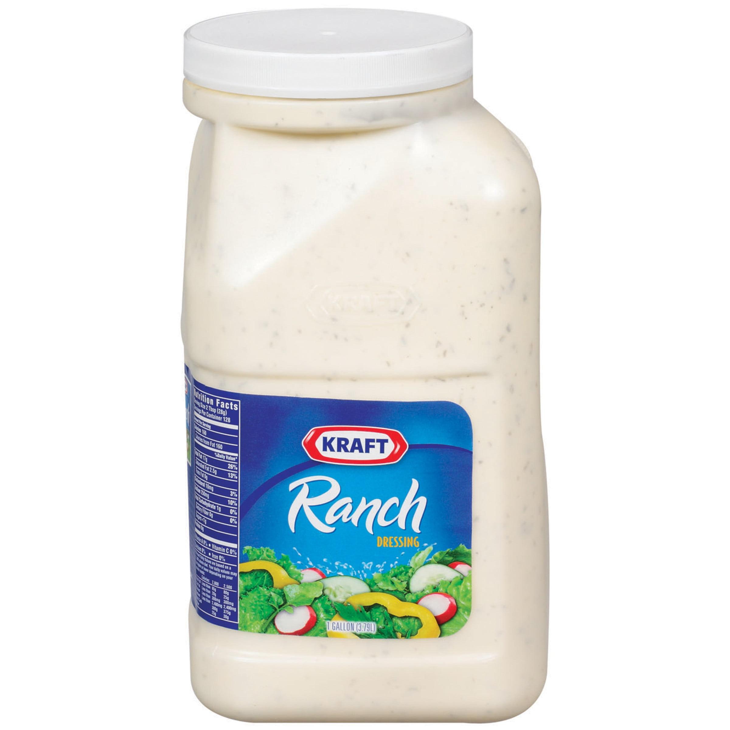 Kraft Ranch Salad Dressing, 1 gal Jug