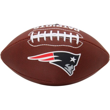 New England Patriots Rawlings Game Time Official Size Football - No Size