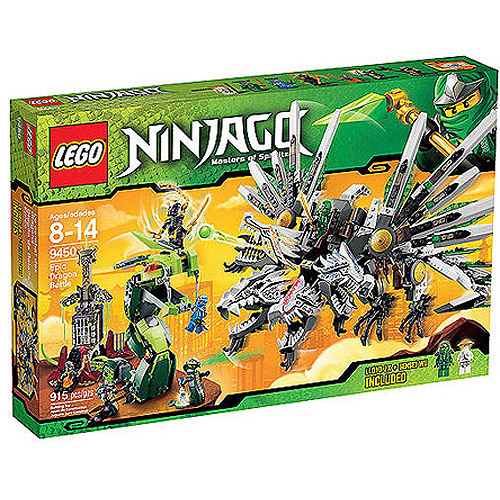 LEGO Ninjago Epic Dragon Battle Play Set