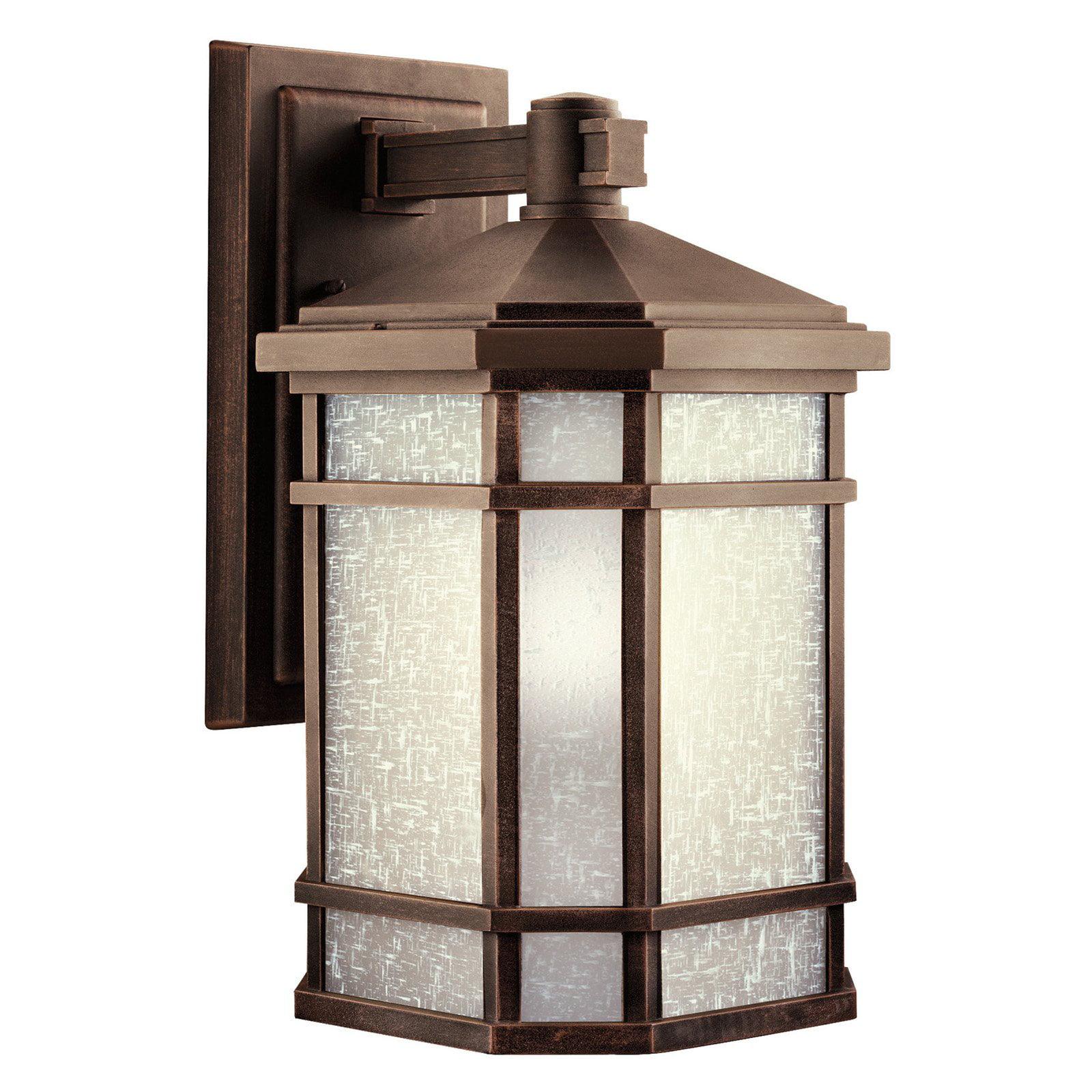 Kichler Cameron 1101 Outdoor Wall Lantern - Prairie Rock