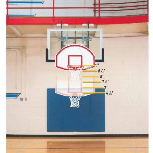 Bison 6-in-1 Adjustable Easy-Up Youth Mini Goal