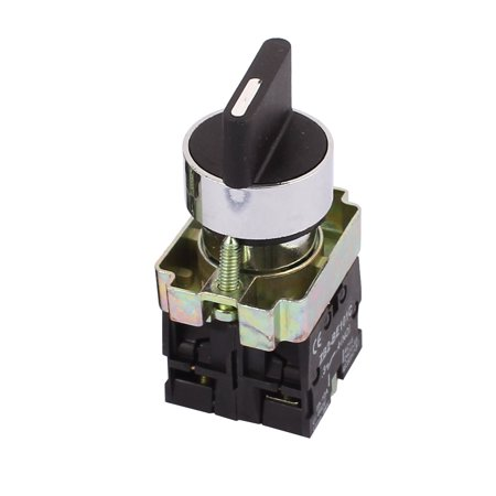 ON-OFF Two 2 Position Rotary Select Selector Switch Lock 1 NO (5 Way Selector Switch)