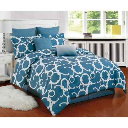 Rhys Hotel Online Quilted Oversized/Overfilled Comforter Set by Duck River Textile