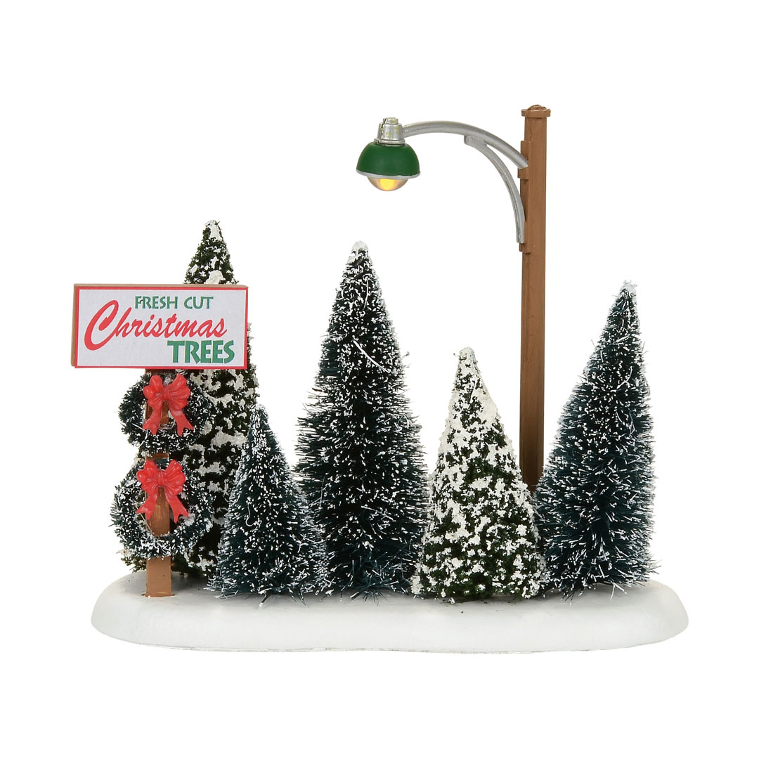 Dept 56 Snow Village 4054239  Christmas Tree Lot