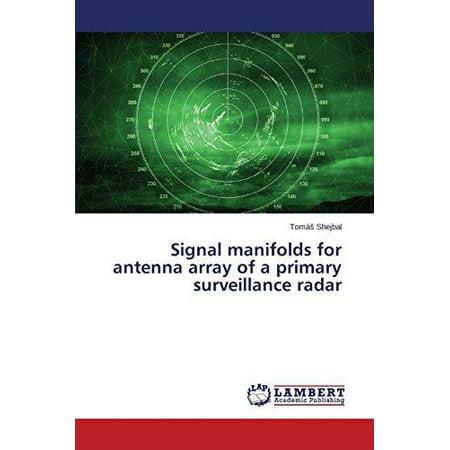 Signal Manifolds For Antenna Array Of A Primary Surveillance Radar