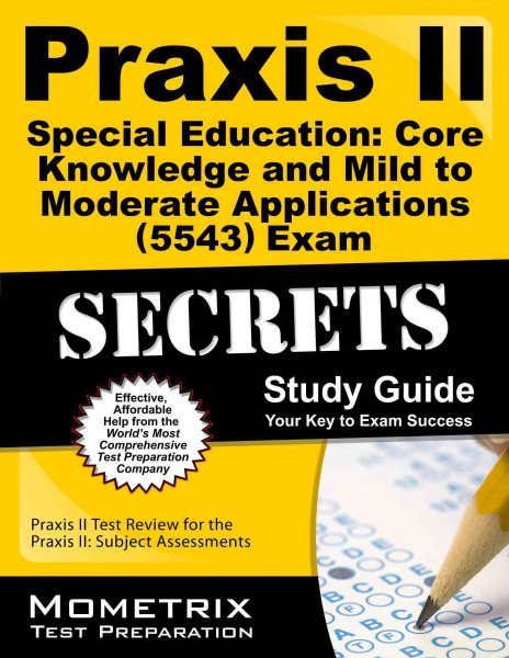praxis ii special education core knowledge and mild to moderate rh walmart com special education praxis study guide book For Elementary Education Praxis Study Guide