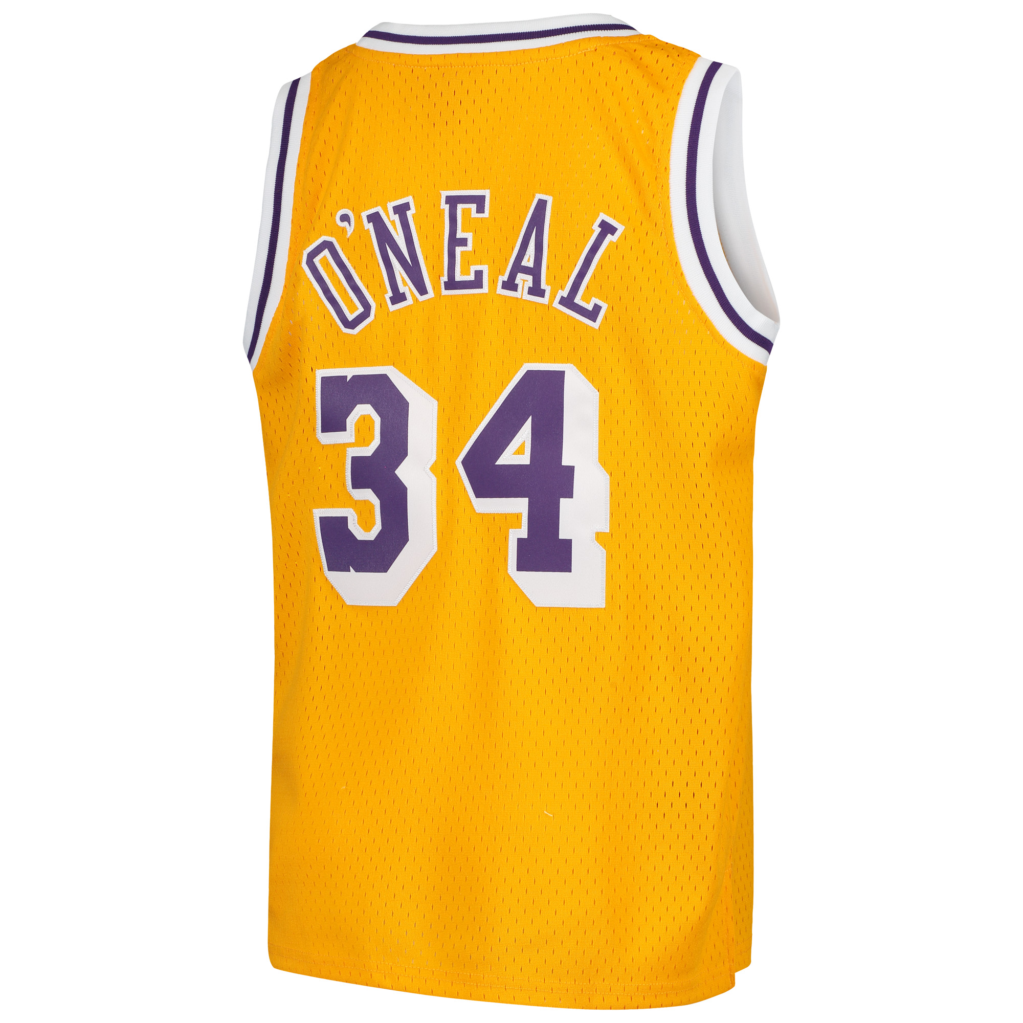 separation shoes de98e 37a5a Shaquille O'Neal Los Angeles Lakers Mitchell & Ness Youth Swingman  Throwback Jersey - Gold