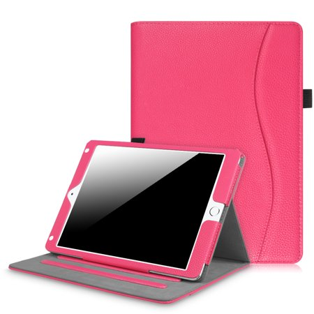 Fintie Multi-Angle Viewing Case Cover for iPad 9.7 6th / 5th Gen 2018 2017, iPad Air 1/2, Hot Pink - image 7 of 7