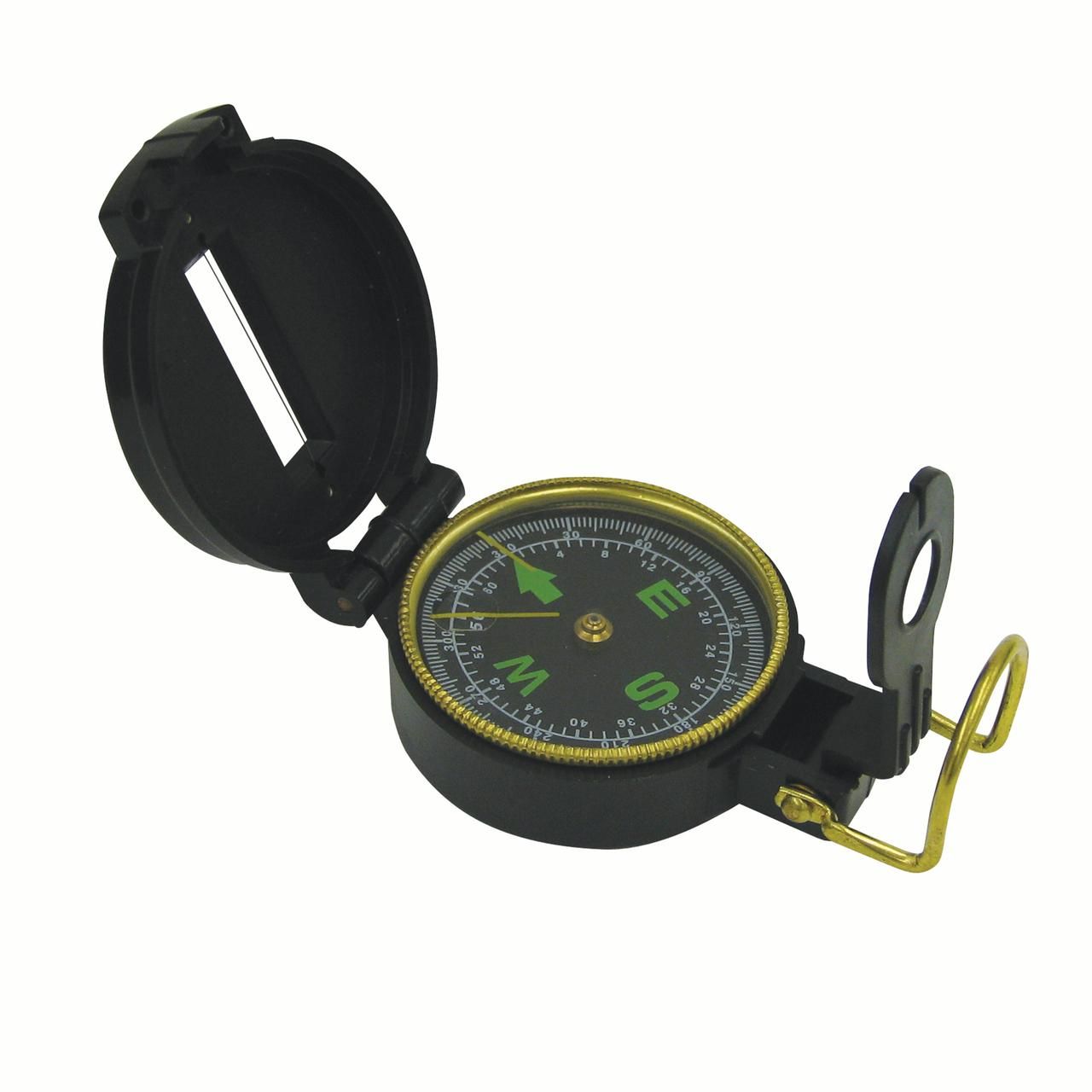 Stansport 550-P Lensatic Compass Plastic by Stansport