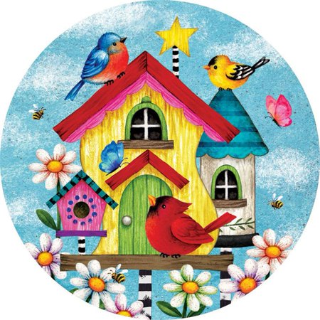 Custom Decor Accent Magnet - Whimsy - Birdhouse Magnet