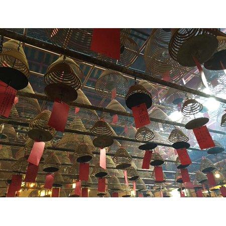 LAMINATED POSTER Decoration Temple China Hong Kong Religion Poster Print 24 x 36](Halloween Decorations Hong Kong)