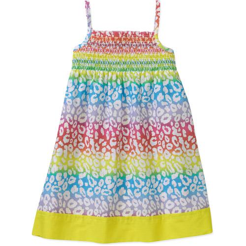 Healthtex Healthex Print Woven Smock Top Dress
