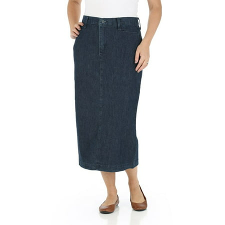 Women's Long Stretch Twill (Woven Long Skirt)