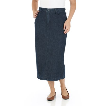 Women's Long Stretch Twill Skirt