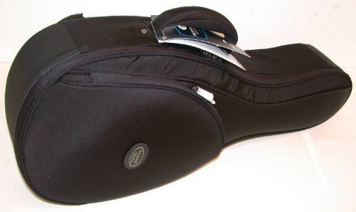 Reunion Blues RBCMUBKRB RB Continental Mandolin Case in Midnight Black Color by Reunion Blues
