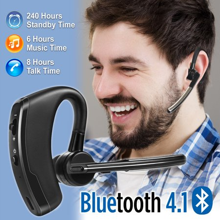 Wireless Bluetooth Noise Cancelling Trucker Headset Earpiece Earbud Microphone For (Touch Ultra Small Wireless Bluetooth 5-0 Earbuds)