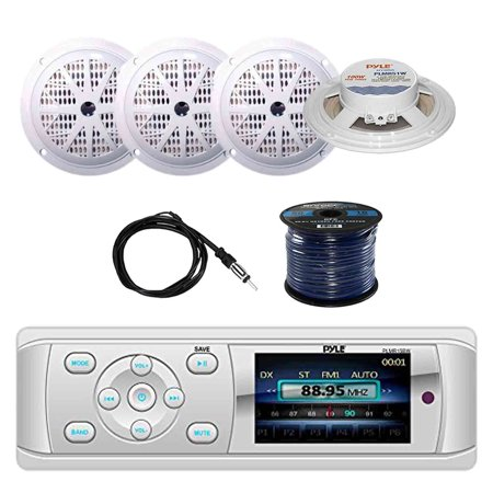 Surprising Pyle Plmr15Bw Bluetooth Marine Stereo Radio Receiver With Pyle Wiring 101 Akebretraxxcnl