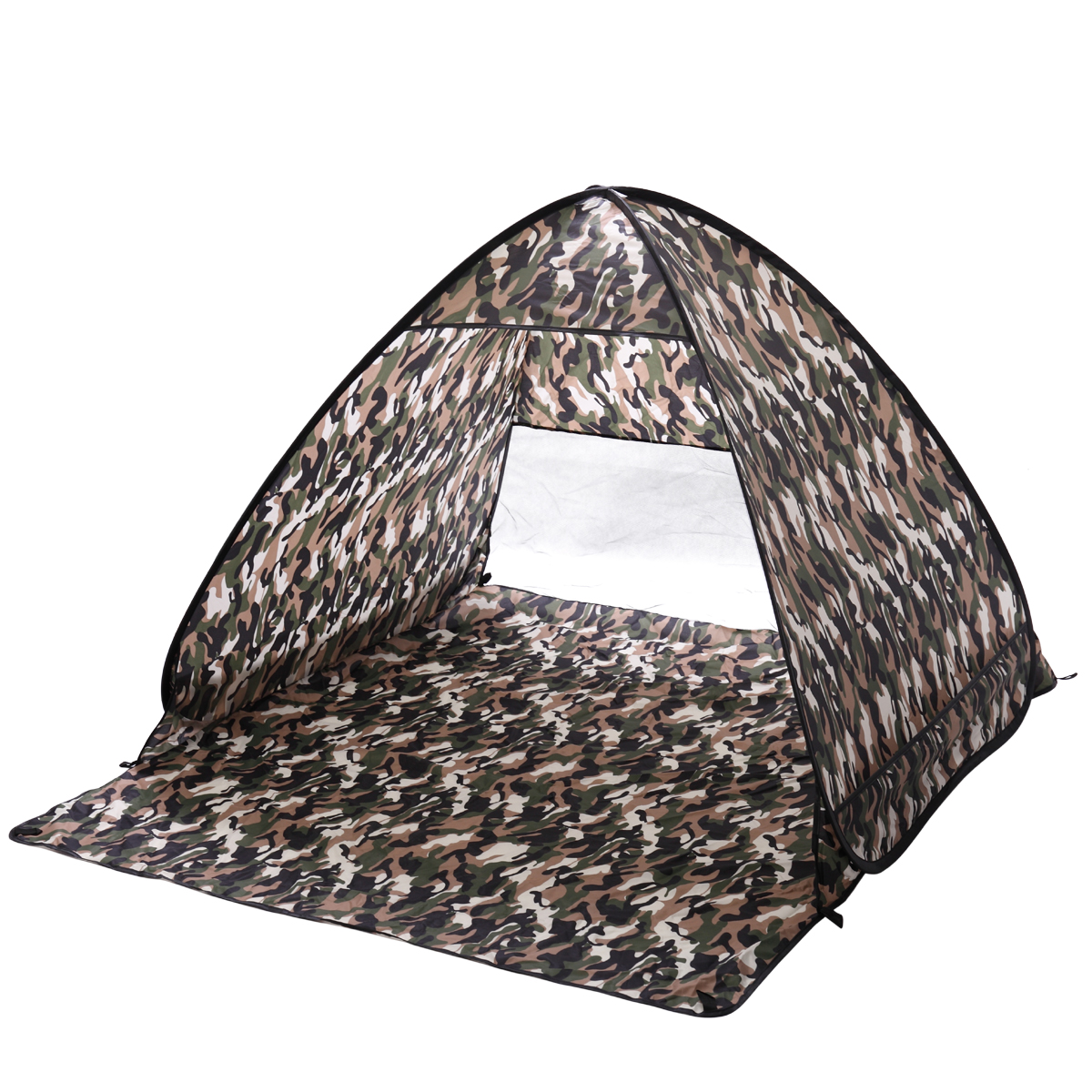 Lazymoon Small Camouflage�Pop Up Portable Beach Canopy Sun Shade Shelter Outdoor Camping Fishing Tent by Lazymoon