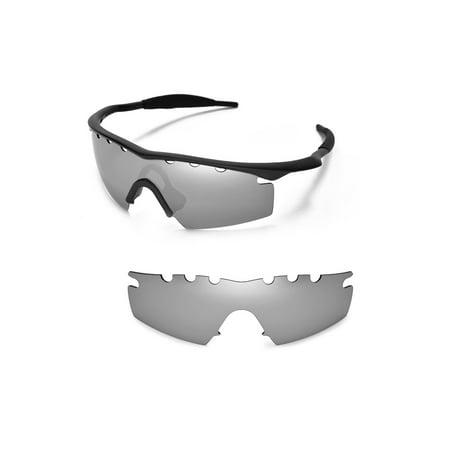 Walleva Titanium Polarized Vented Replacement Lenses For Oakley M ...