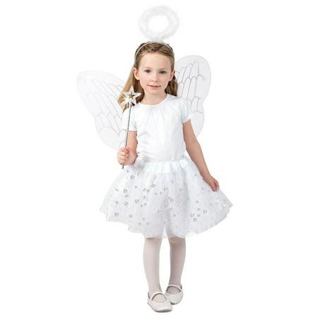 Girls Angel Skirt Set Costume](Qc's 2020 Halloween)