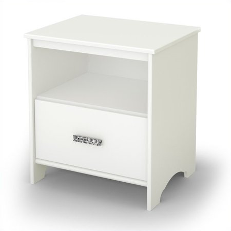 South Tiara Nightstand White Product Image