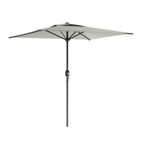 Atlin Designs Square Patio Umbrella in Sand Gray ()