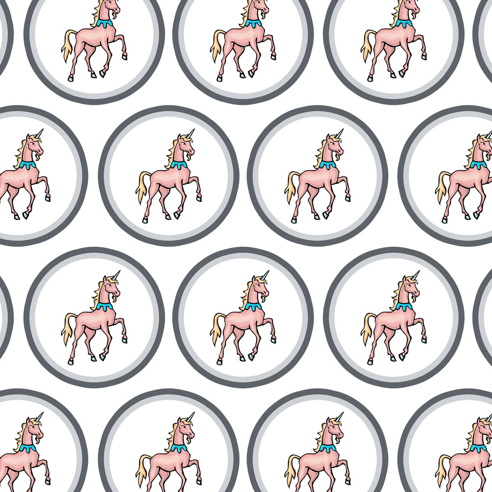 Unicorn Fantasy Premium Gift Wrap Wrapping Paper Roll