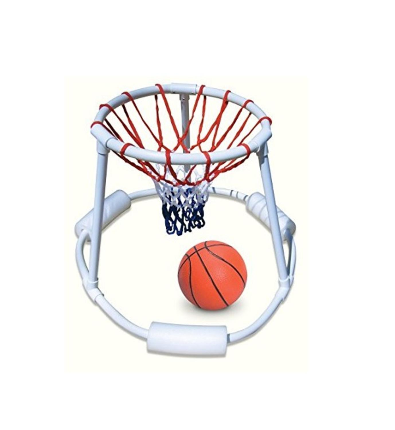 """24"""" Water Sports Super Hoops Swimming Pool Floating Basketball Game"""