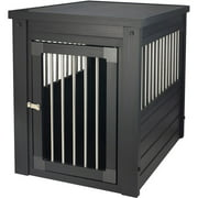 New Age Pet ecoFLEX Dog Crate Endtable with Stainless Steel Spindles, Multiple Colors and Sizes