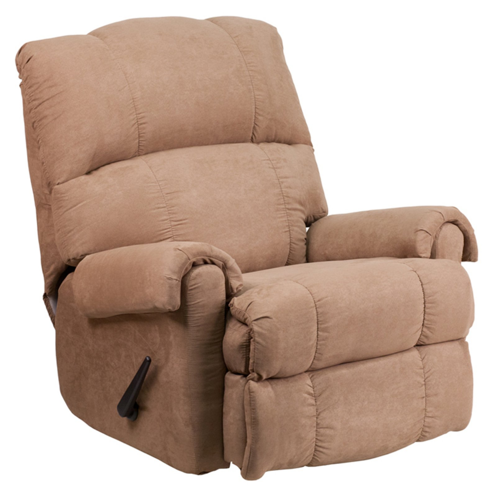 Flash Furniture Taupe Fabric Rocker Recliner