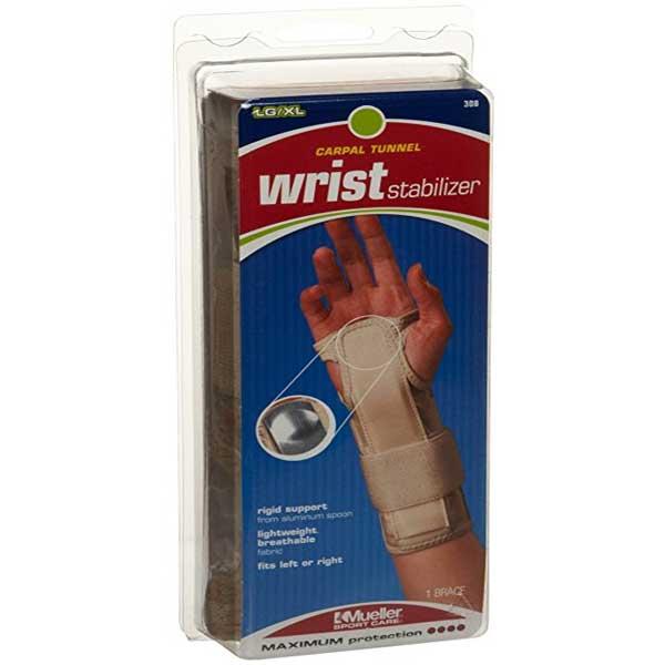 Mueller Wrist Stabilizer Beige Small//Medium