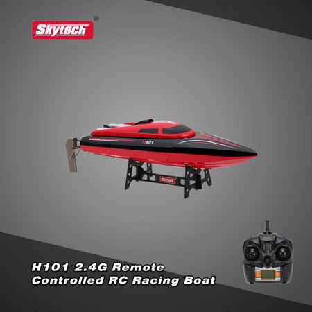 Original Skytech H101 2.4G Remote Controlled 180° Flip High Speed Electric RC Racing Boat
