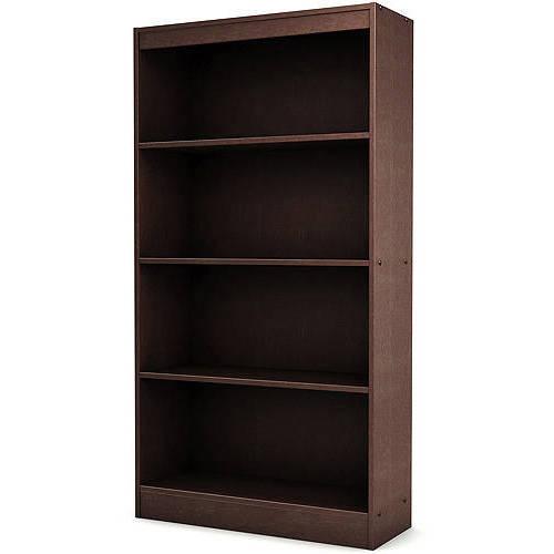 """South Shore Smart Basics 4-Shelf 56"""" Bookcase, Multiple Finishes"""