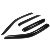 For 2001 to 2012 Escape / Tribute / Mariner 4pcs Window Vent Visor Deflector Rain Guard (Dark Smoke) 02 03 04 05 06 07 08 09 10 11