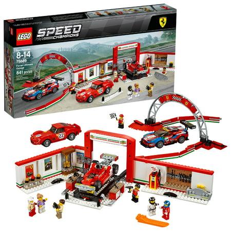 Lego Ferrari (LEGO Speed Champions Ferrari Ultimate Garage 75889 )