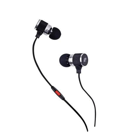 Heavy Bass 3.5mm Stereo Earbuds/ Headset/ Earphones for Samsung Galaxy S9,S9+,A7/ A5/ J2/ J7 (2018),J3 (2018), J3 Star,J6,J4 (Silver) - w/ Mic + MND