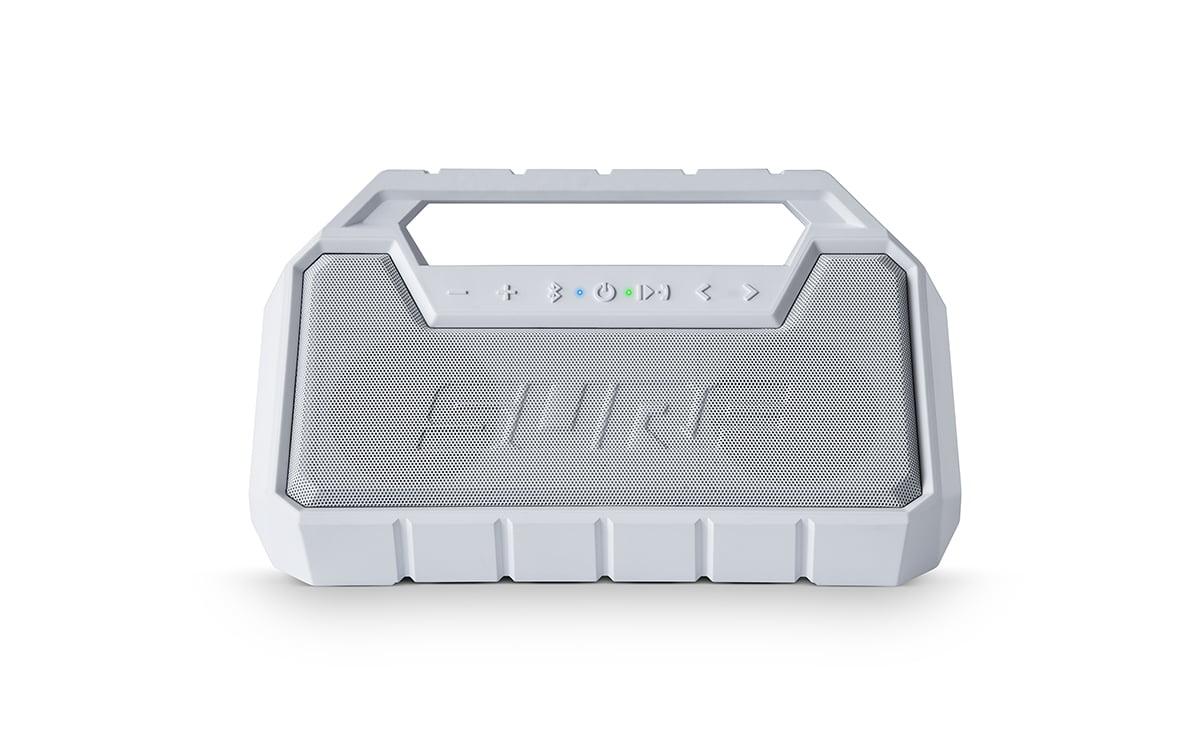 Ion Audio Surf 10 Watt Water-Proof Portable Floating Bluetooth Wireless  Stereo Speaker Boombox, White (Open Box - Like New) - Walmart.com