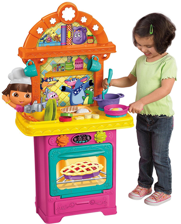 Dora The Explor-nick Fisher Price Dora Cooking Adventure Ki by Fisher-Price Inc