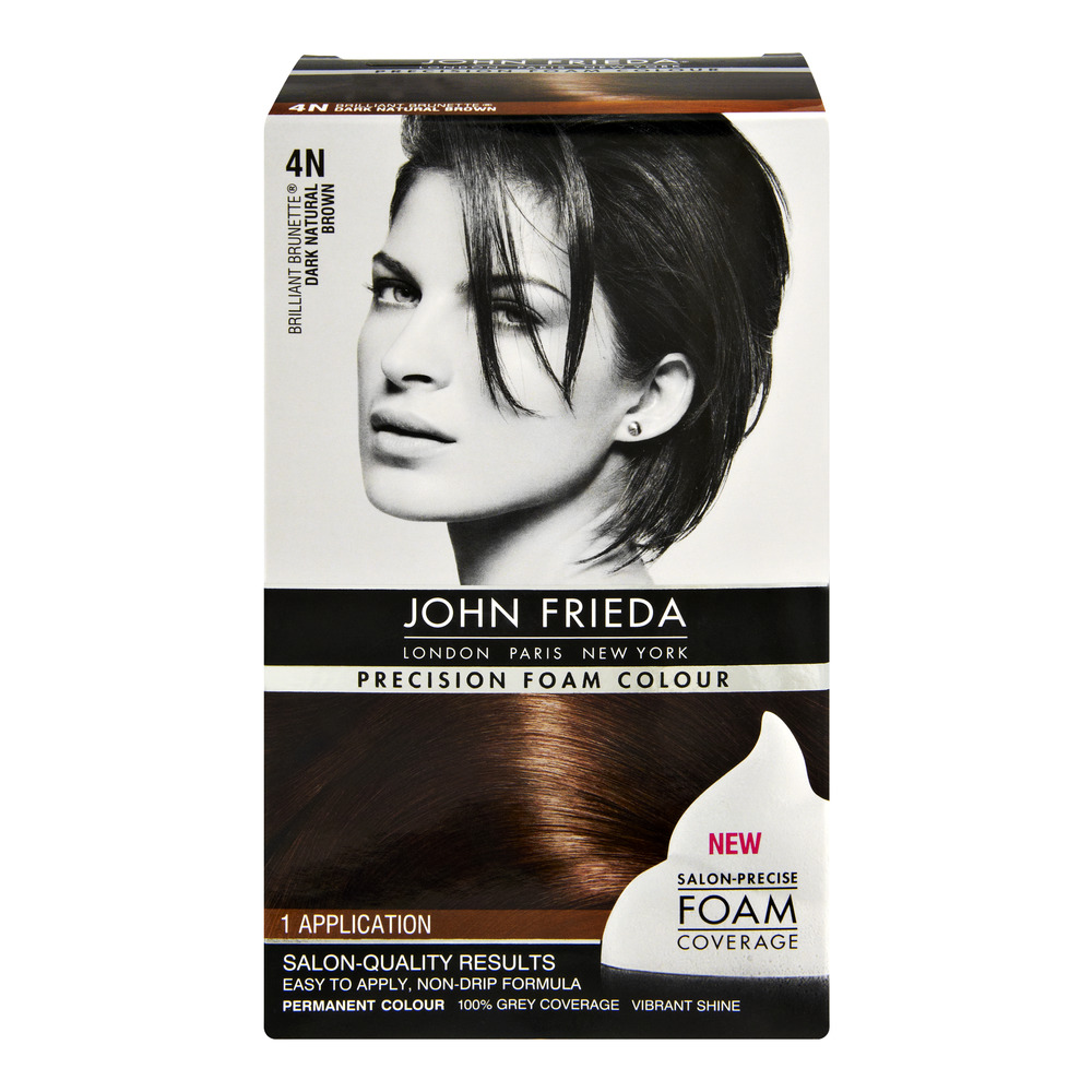 John Frieda Precision Foam Colour Brilliant Brunette 4n