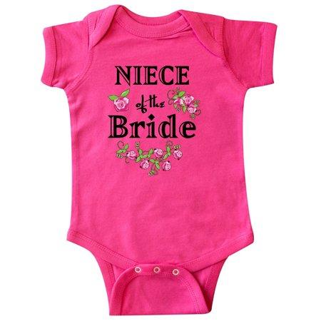 Niece of the Bride Roses Infant Creeper (Bride Onesie)