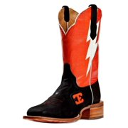 Cinch Western Boots Mens Edge Cowboy Bolt Sq Toe 10 D Black CEM115