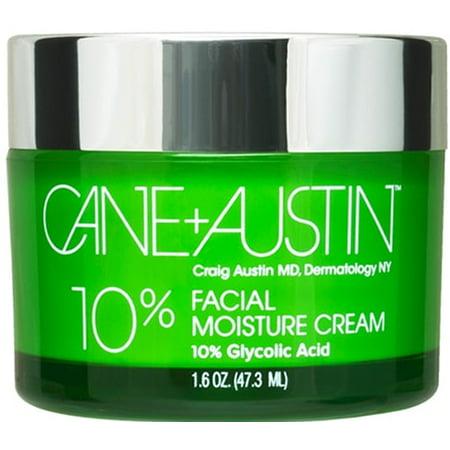 Cane+Austin 10% Crème hydratante visage, 1,6 oz