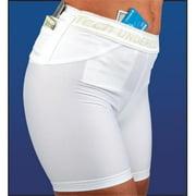 UTUC TS0546WH-M Travel Safe Womens Shorts, Medium